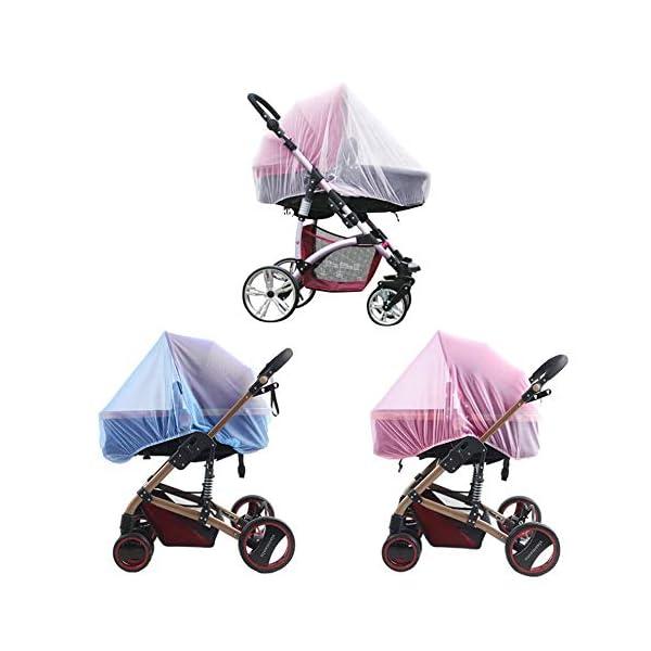 1 Pz Hot Full Outdoor Baby Infant Passeggini per bambini Passeggino Zanzara Insect Net Mesh Buggy Cover Baby Zanzariera 6 spesavip