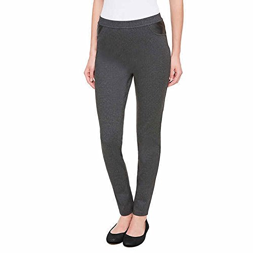 - DKNY Womens Ponte Pants (Charcoal, XX-Large)