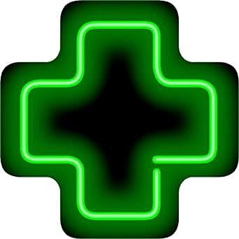 medical cross neon sign amazoncom