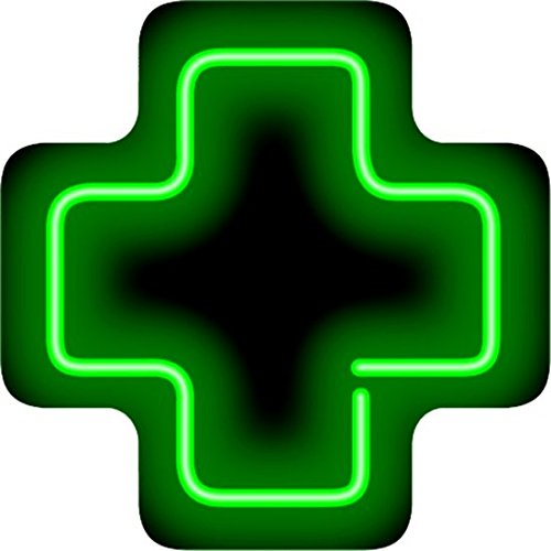 Medical Cross Neon Sign by Jantec Sign Group