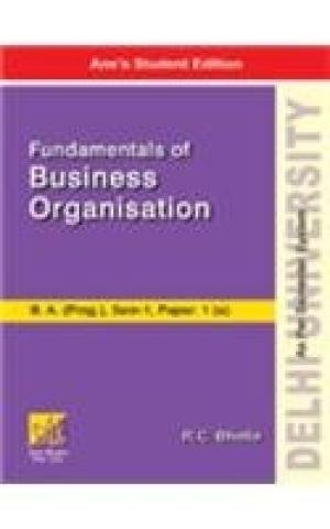 DU B.A.(PROG): Fundamentals of Business Organisation pdf epub