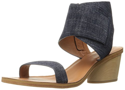 10 Crosby Womens Antonia Dress Sandal Indigo Suede