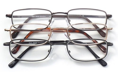 Optx 20/20 Alpha Alloy Readers, Metal Readers, +400,