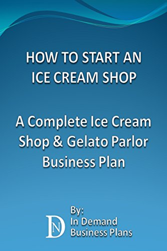 Business plan for ice cream shop