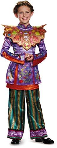 Alice Asian Look Deluxe Alice Through The Looking Glass Movie Disney Costume, (Disney World In Halloween)