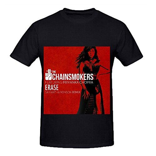The Chainsmokers Erase (samantha Ronson Remix) Soul Album Men O Neck Shirt Black