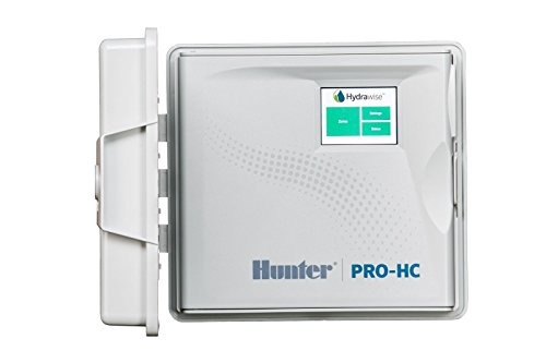 SPW Hunter PRO-HC PHC-1200i 12 Zone Indoor Residential/Professional Grade Wi-Fi Controller With Hydrawise Web-based Software - 12 Station - Internet Android iPhone App (Controller Irrigation Hunter)