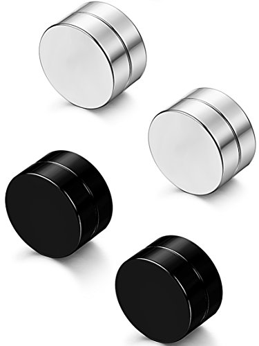 Besteel Stainless Magnetic Earrings Piercings