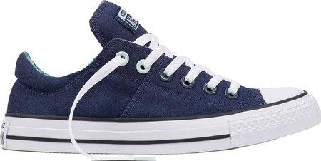 Converse Womens Chuck Taylor All Star Madison Ox Athletic Navy/Fiberglass Sneaker - 6