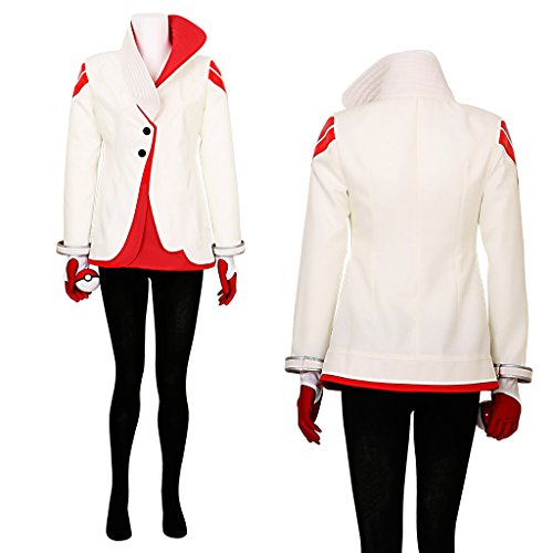 (CG Costume Women's Candela Team Valor Team Leader Cosplay Costume)