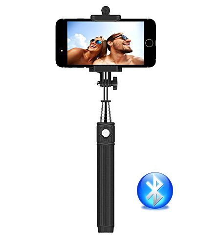 selfie stick kiwii bluetooth monopod extendable wireless import it all. Black Bedroom Furniture Sets. Home Design Ideas
