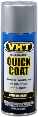 VHT SP507 Quick Coat Bright Aluminum Acrylic Enamel Can - 11 oz.