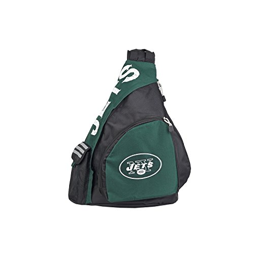 Officially Licensed NFL New York Jets Leadoff Slingbag