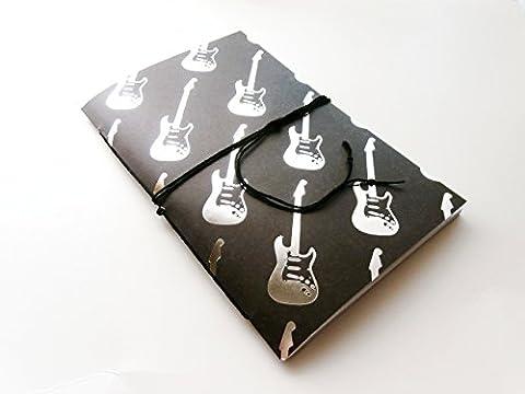 Personalized Guitar Notebook (Traveler Guitar Custom)