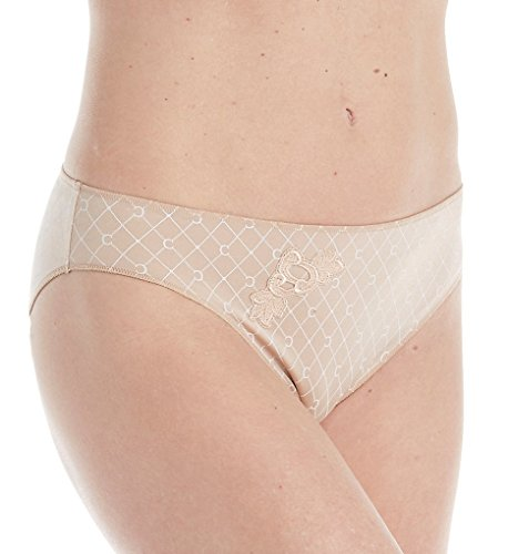 Chantelle Hedona Bikini Brief Panty (2338) 2X/Nude Monogram Print