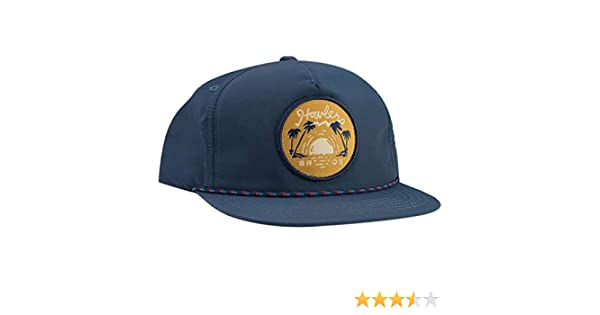 81d47fabb9db8f Howler Brothers Script Sunset Unstructured Snapback Hat - Men's Navy Nylon,  One Size at Amazon Men's Clothing store: