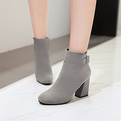 winter radius head with Ms Grey boots suede boots FPSwxdqZ