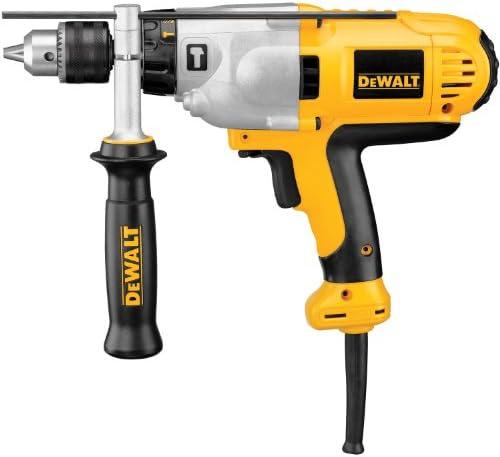 DEWALT Hammer Drill Kit, 1 2-Inch, 10-Amp, Mid-Handle Grip DWD525K