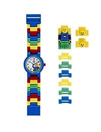 LEGO 9005732 Reloj con figura clásica en el brazalete, para niño