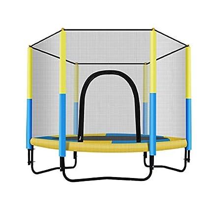 Trampolines Cama Elastica Cerrado para 2 Personas: colchoneta para ...