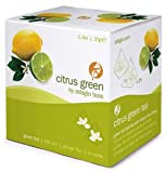 Adagio Teas, Citrus Green, Tea Bags, 15-count Package (Pack of 1)