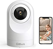 Security Camera Indoor, Goowls WiFi Camera for Home Security 1080P Pan/Tilt 2.4GHz Dog Camera Wireless IP Camera for...