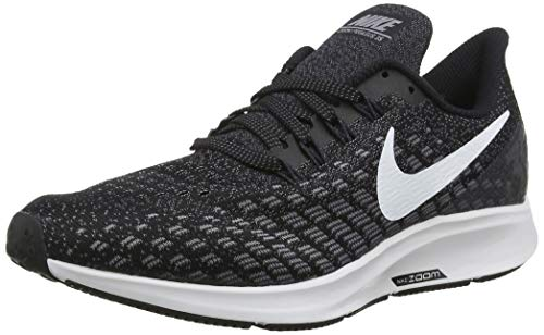 Nike Men's Air Zoom Pegasus 35 Running Shoes (11 D US, Black/White/Gunsmoke/Oil Grey)