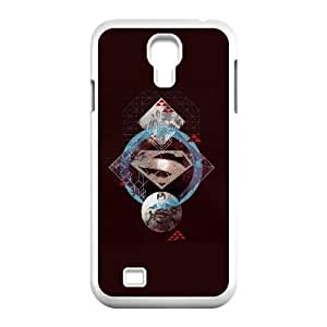 Purple Superman Collage Samsung Galaxy S4 9500 Cell Phone Case White&Phone Accessory STC_198098