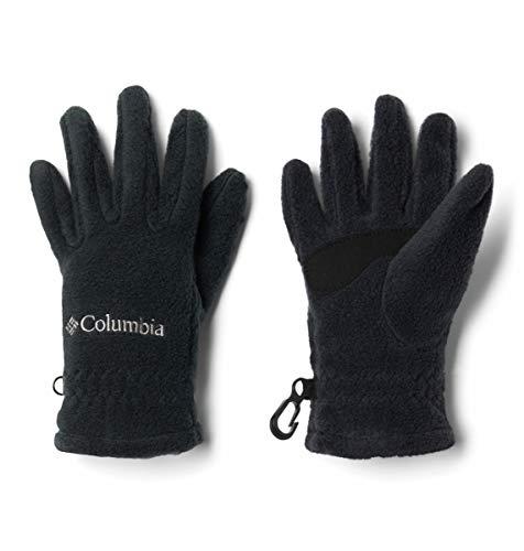 - Columbia boys Youth Fast Trek Fleece Gloves , Black, Medium,Big Boys