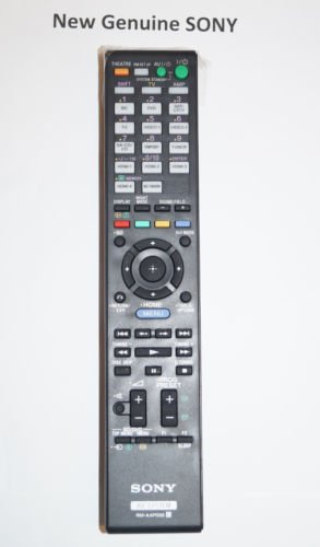 New Genuine Sony Remote Control RM-AAP056 MULTI CHANNEL AV RECEIVER For STR-DN2010 -  SONY_SERVICE_PARTS