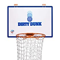 The Dunk Collection-  Dirty Dunk - The Original Over-The-Door Basketball Hoop Laundry Hamper
