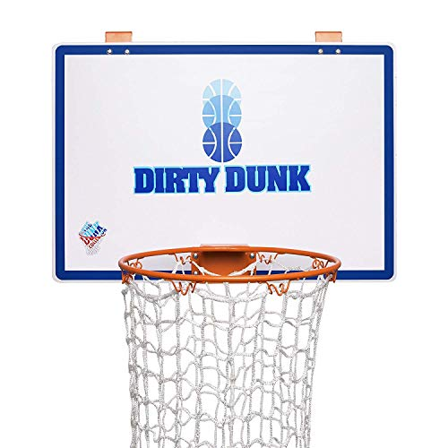 (The Dunk Collection Dirty Dunk - the Original Over-the-Door Basketball Hoop Laundry Hamper)