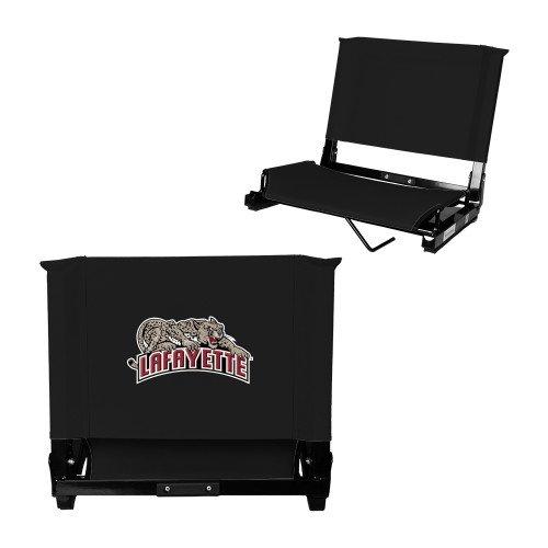 - Lafayette Stadium Chair Black 'Primary Mark'