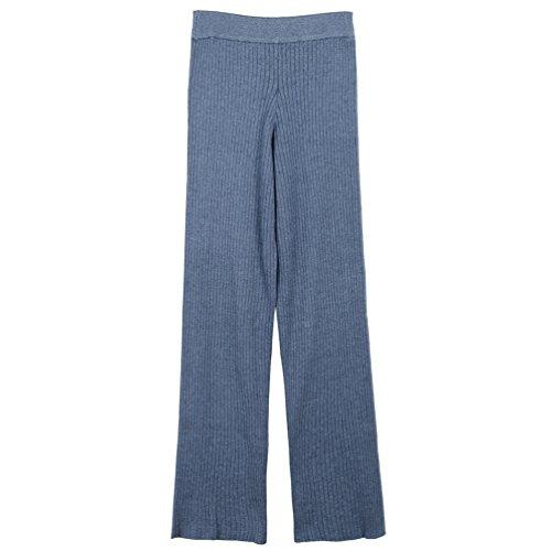 Larghe Del Sudore Wanyang Delle Invernale Di Caduta Pantalone Donne Blu Pantaloni zgTgY8nR