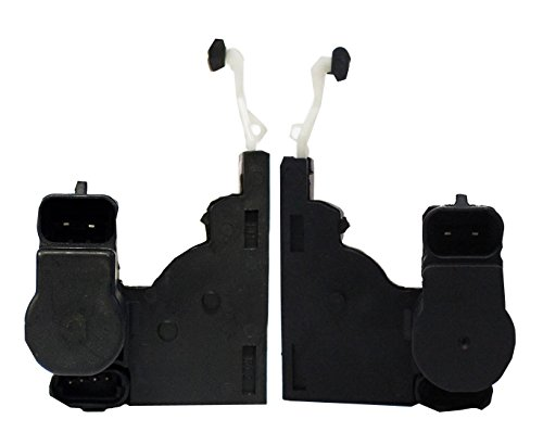Left and Right Door Lock Actuator Motors for 1992-2006 Buick Cadillac Escalade Chevrolet Silverado Avalanche Express 1500 2500 GMC Oldsmobile without Passlock Security ()