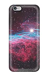 Iphone 5 5S / Abucted by Aliens - black plastic case / Space, Stars, Fantasy