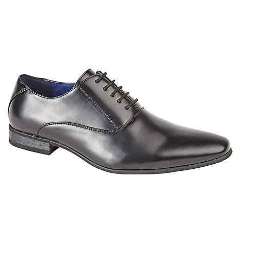 Route 21 Childrens Boys 5 Eyelet Plain Oxford Tie Formal Shoes (6 US) (Eyelet Tie Shoe)