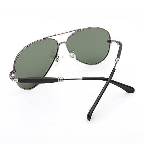 Viajar Espejo Adecuado piloto Mujer Gafas polarizadas Gafas para Sol de al de Rana de Deportes para Gafas Sol Aire de polarizadas Piloto polarizadas Sol Gafas de Libre Volar XX16P