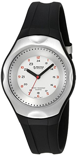 Prestige Medical Nurse Cyber GEL-Scrub Watch, Black