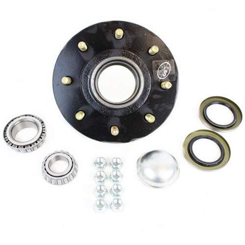 Southwest Wheel 8-Hole, 6.5'' Bolt Circle Idler Hub for 7,000 lb Axle by Southwest Wheel