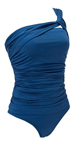 Vian Lundgaard - Tankini - Opaco - para mujer Azul