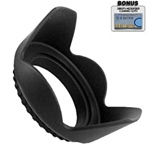 Pro Digital Hard Lens Hood For The Canon Powershot S2 IS, S3 IS, S5 IS Digital Cameras