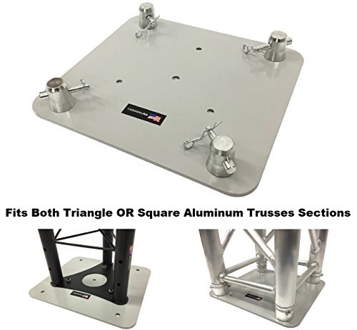 12 X13  Base Plate  Top For Square Or Triangle Trussing Fits F34 Global Truss Sq