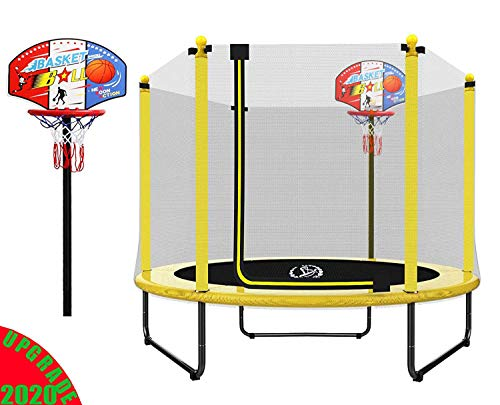 "LANGXUN 60"" Mini Trampoline for Kids"