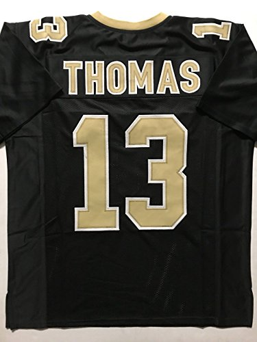 Unsigned Michael Thomas New Orleans Black Custom Stitched Football Jersey Size Men's XL New No Brands/Logos