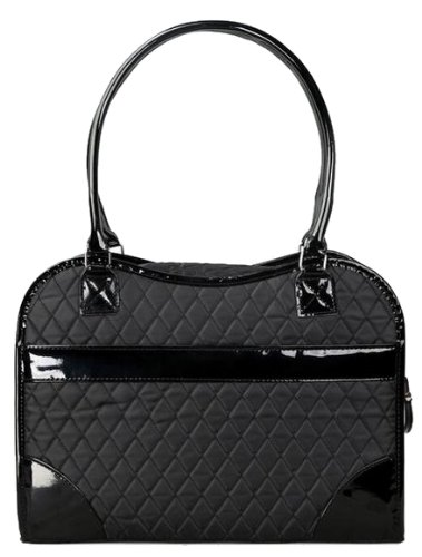 Exquisite' Handbag Fashion Pet Carrier, One Size, (Black Dog Designer Handbag)