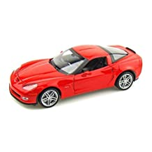 2007 Chevy Corvette Z06 1/24 Red by Collectable Diecast