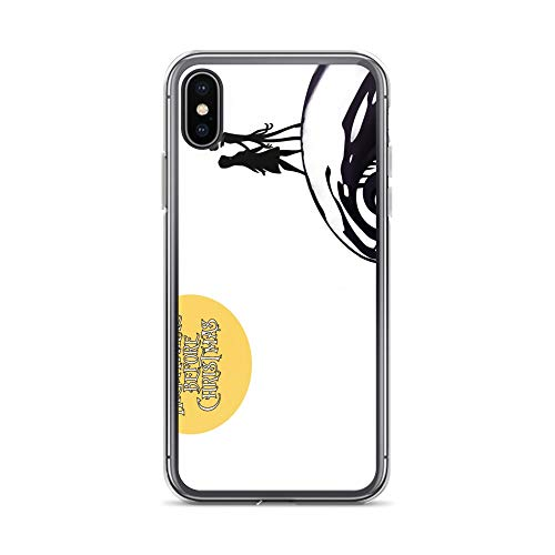 iPhone X/XS Case Anti-Scratch Motion Picture Transparent Cases Cover Nightmare Before Christmas Movies Video Film Crystal Clear]()