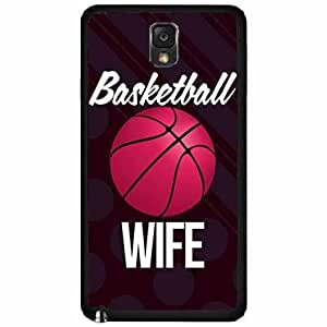 Basketball Wife Plastic Phone Case Back Cover Samsung Galaxy Note III 3 N9002