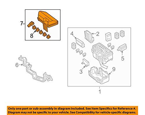 Genuine Honda 38256-TA0-A02 Relay Box (Upper) Cover: